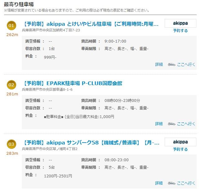 ナビタイム三ノ宮駅JR周辺3